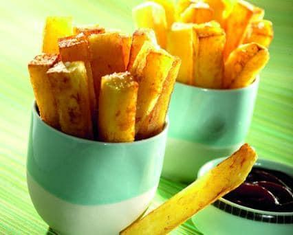 طريقة قلي البطاطس في قلاية تيفال بدون زيت
